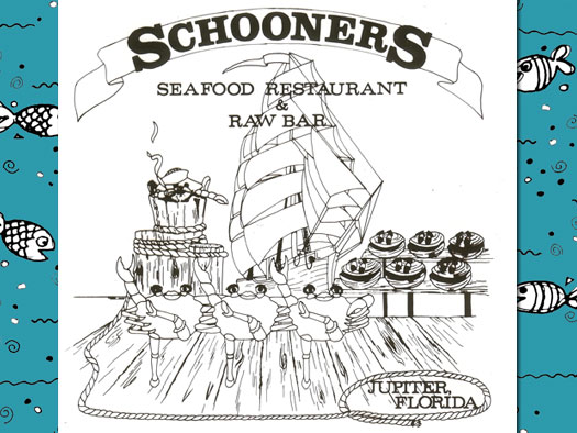 Schooners Artwork - Dancing Crabs
