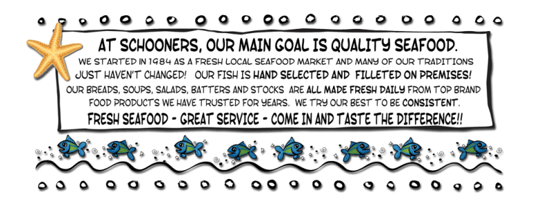 our main goal is quality seafood